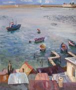 Крыши, лодки, равеллин