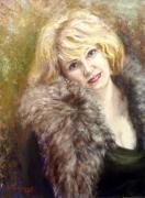 Портрет поэтессы И. Саврасовой