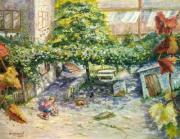 Солнечный одесский дворик