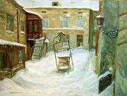Зимний одесский дворик