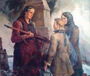 Материнское благословение на подвиг. 2002 г.