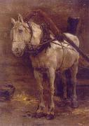 Лошадь. 1958 г.