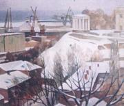 Одесса зимой. 1988 г.