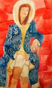 Женщина в пальто
