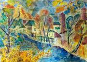 Река и хаты