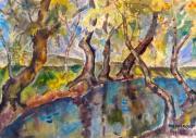 Над речкой