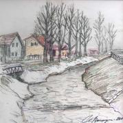 Зимой в Попраде (Словакия)