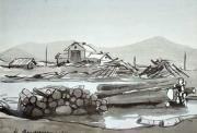 На Жигулевском водохранилище