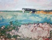 Порт Южный. Разорванный мост