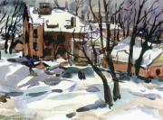 Зима на Фонтане