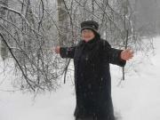 Моя мамочка радуется зиме