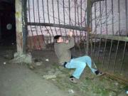 Пируэт на воротах