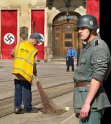 Понасмічували тут... нацисти... і куди тільки міліція дивиться?!