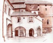 Дворик Ольштынского замка