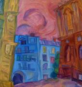 Вид на переулок Чайковского