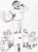 Иллюстрации к книге Е. Костян