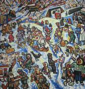 Зима в Прилуках. Каникулы
