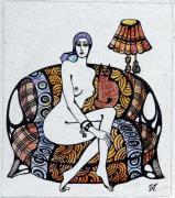 Обнаженная женщина (серия из 5 работ)
