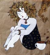 Спящая девочка (триптих