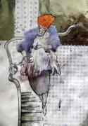 Женщина, несущая яйцо