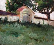 Восточные ворота Успенского мужского монастыря в Одессе