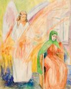 Эскиз к картине «Благовещенье»