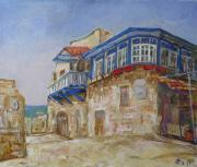 Улица Водолея в Яффо