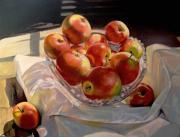 Яблоки на свету
