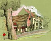 Старая улочка Гежице