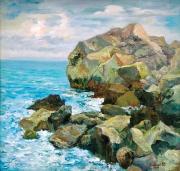 Вид на скалу Айвазовского