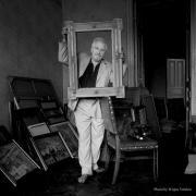 Портрет искусствоведа, музыканта и дворянина Евгения Отаровича Лукашова