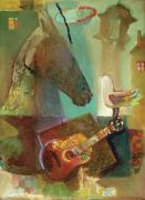 Лошадь и голубь