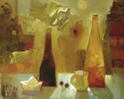 Бутылки и кораблики