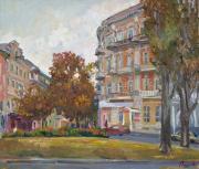 Ноябрь. Екатерининская площадь