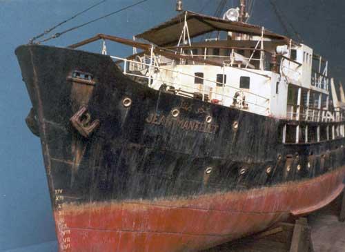 Модель Лоцманского судна «Jean Mantelet»