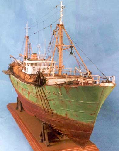 Модель Рыболовного траулера «Hemerica»