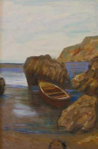 Лодка у моря