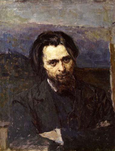 Портрет художника Кузьмы Никифоровича Кудрявцева