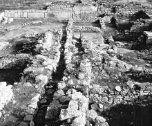 Рис. 2. Центральный раскоп, участок северо-запад