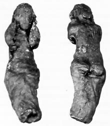 Рис. 6 Свинцовая фигурка Афродиты