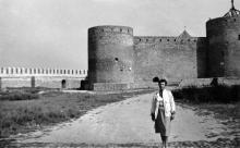 В Белгород-Днестровской крепости. 1987 г.