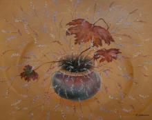 Осенний букет, х.м., 40х50