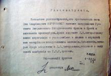 Удостоверение РЗИА