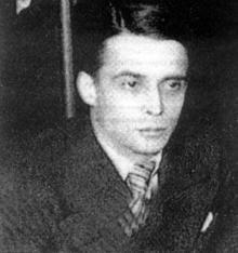 Перикл Ставров. 1934 год. Париж. (Фрагмент из коллективной фотографии сотрудников и авторов журнала «Числа»)
