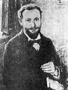 Кишиневский. Автопортрет