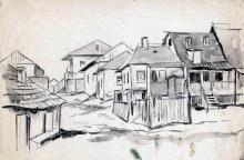 Нюренберг. Улица в Ерусалимке. 1919 г.