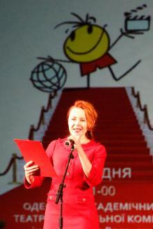 Одесский МДКФ «NEXT»: церемонию открытия провела известная телеведущая