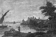 Аккерманская крепость, гравюра, 1790 г.