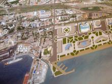 Детальный  план  развития  территории,  на  которой  будет строиться основная арена чемпионата Европы по баскетболу-2015