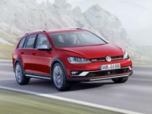 Volkswagen Golf Alltrack. Фото Volkswagen